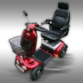 SCOOTER ELECTRIQUE 889SLBF ROUGE
