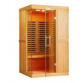 SAUNA INFRAROUGE 1 A 2 Pers 220V AVEC IONISEUR D'AIR et LUMINOTHERAPIE